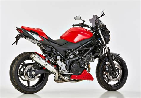 Euro 4 Motorrad Sound by Hurric Supersport Auspuff Suzuki Sv650 Ab 2016 Euro4 284 95
