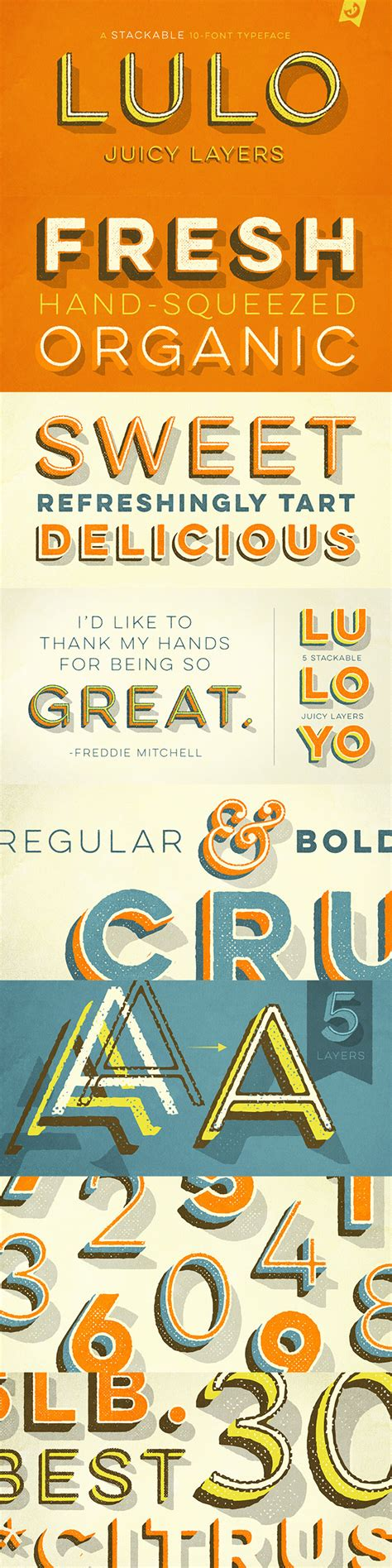 design font collection the inspirational creative font collection includes web