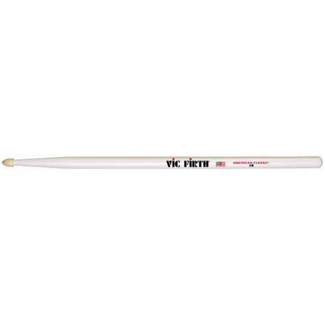 Stick Drum Vic Firth American Classic 5b White Wood Tip vic firth american classic 5b white drumstick drumsticks