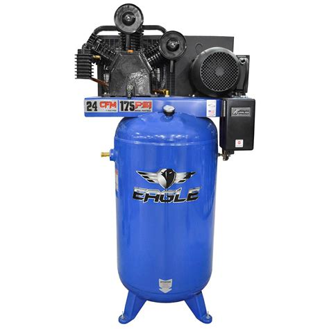 Eagle Air Compressor by 2 Stage Air Compressors Eagle Air Compressor 80 Gallon