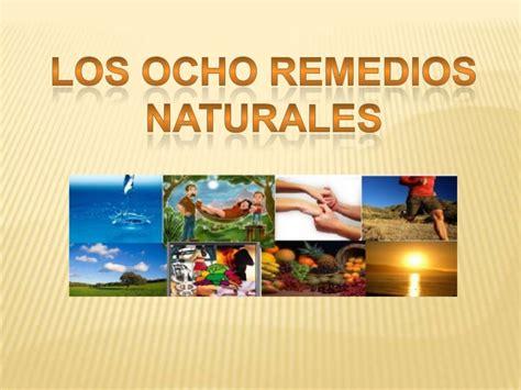 imagenes tratamientos naturales los ocho remedios naturales