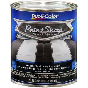 dupli color jet black paint shop finish system base coat bsp200 read reviews on dupli color