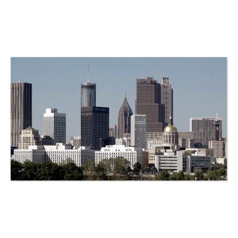cityscape business card template atlanta cityscape business card template