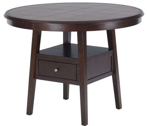 Counter Dining Table Caleb Brown 48 Quot Counter Height Dining Table 976 48 Jofran