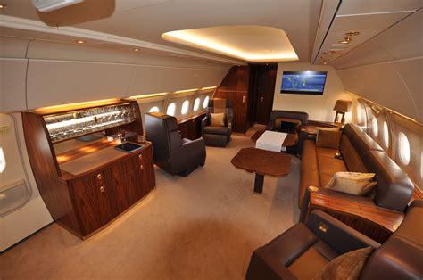 aircraft interior on jet interior