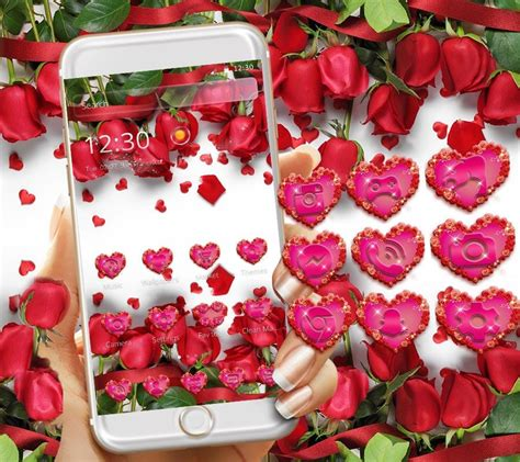rose themes photos red rose theme wallpaper red roses lock screen android
