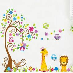 Giant Wall Stickers For Nursery babies cartoon and baby rooms on pinterest