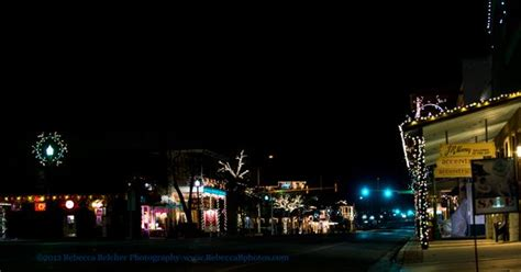 boerne xmas lights on downtown boerne www rebeccabphotos lights