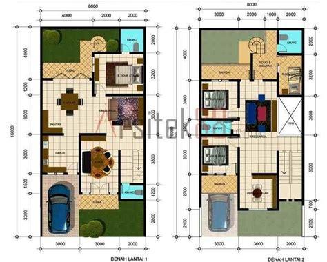 denah rumah sederhana 4 kamar tidur foto atau gambar berjudul denah rumah sederhana 4 kamar