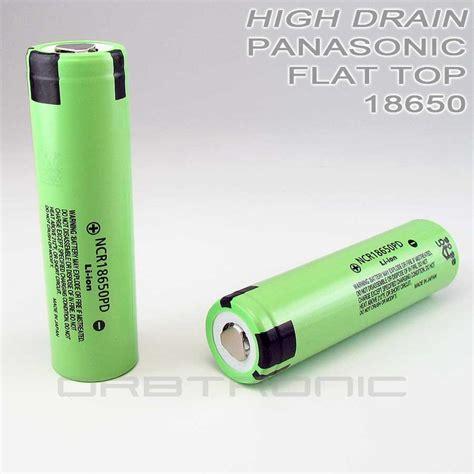 Panasonic 18650 Li Ion High Drain Hybrid 2900mah 36v Flat Top 14 Best 18650 Li Ion Batteries Usa Market Orbtronic