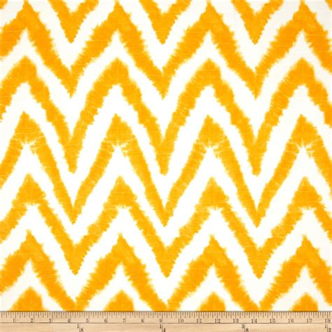 yellow pattern material premier prints diva chevron slub corn yellow discount