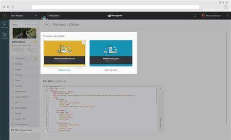maintenance mode html template 28 images custom