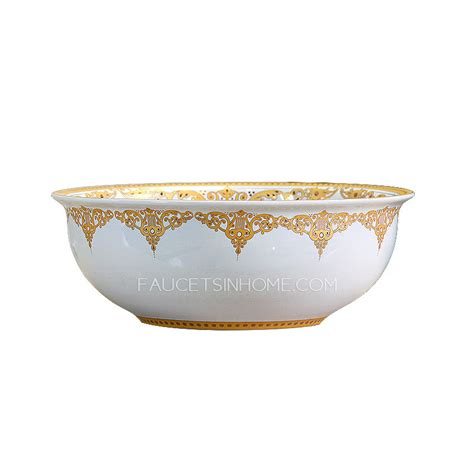 Toilet And Bathtub Not Draining Golden And White Ceramic Round Bath Sinks Single Bowl Antique