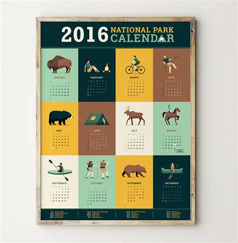 design calendar schedule 50 absolutely beautiful 2016 calendar designs hongkiat