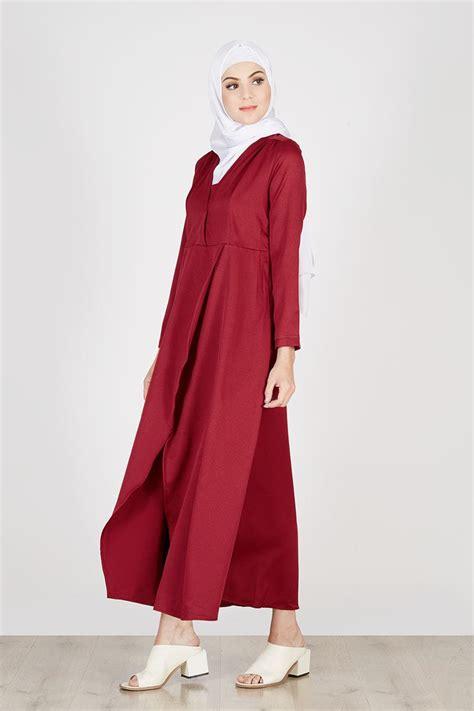 Asiro Sling Bag Maroon Asiro sell jara dress maroon dresses and jumpsuit hijabenka