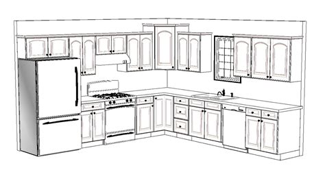 l shaped kitchen island floor plan home design