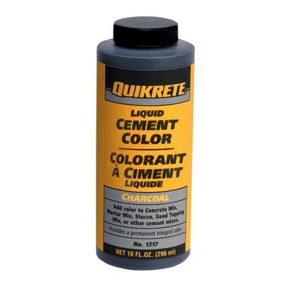 quikrete liquid cement color quikrete liquid cement color charcoal 296ml home depot