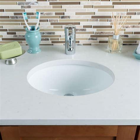 Ceramic Bathroom Sinks Hahn Ceramic Small Oval Bowl Undermount White Bathroom Sink Ebay