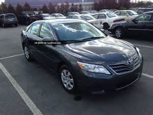 2010 Toyota Camry Le 2010 Toyota Camry Le