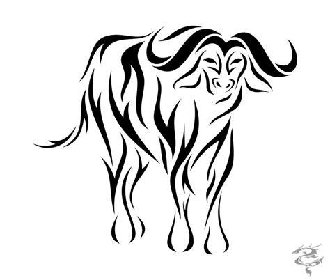 ox tribal tattoo zodiac ox by visuallyours on deviantart