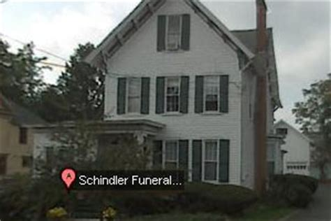 schindler funeral home gowanda new york ny funeral