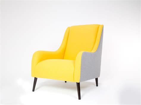 Yellow Accent Chair Chair Yellow By Brewers Home Contemporary Armchairs And Accent Chairs South East