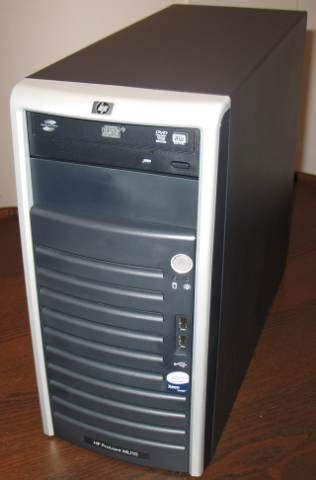 Server Hp Ml110 hp proliant ml110 g5 storage server used great condition elmazad