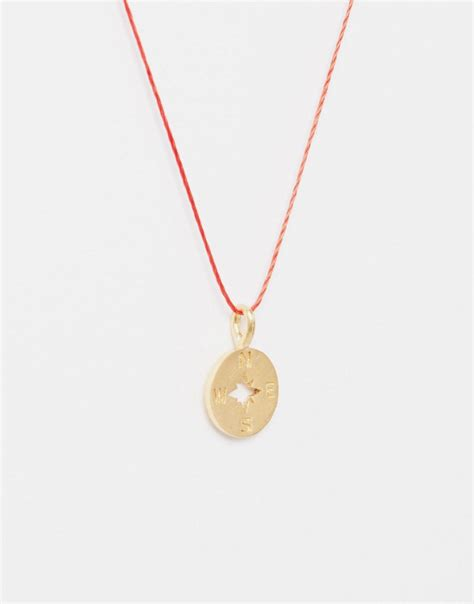 Dogeareds Make A Wish Necklaces by Dogeared Dogeared Gold Plated Going Places Cutout