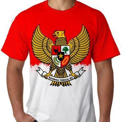 Kaos Indonesia Kaos Distro Garuda kaos garuda pancasila merah putih print kaos premium