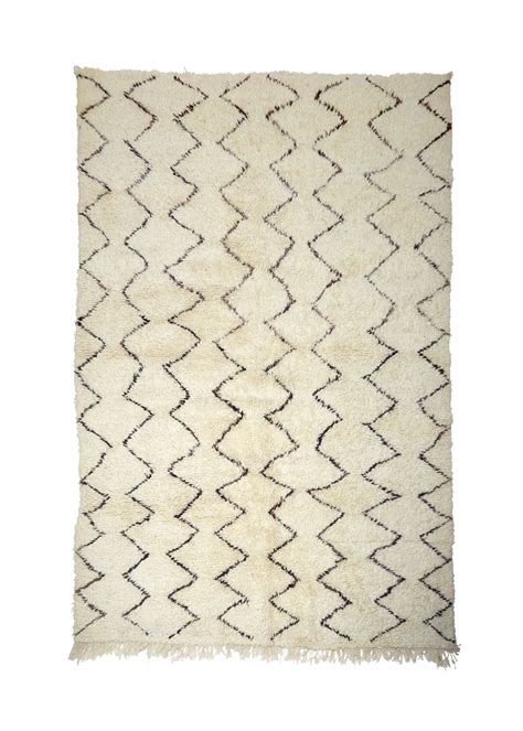 White Berber Area Rug Large Moroccan Berber Rug Mw67 295 X 230 Cm Moroccan White