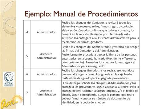 manual de percepciones de la apf 2016 php listado de ejemplos manual manual de procedimientos