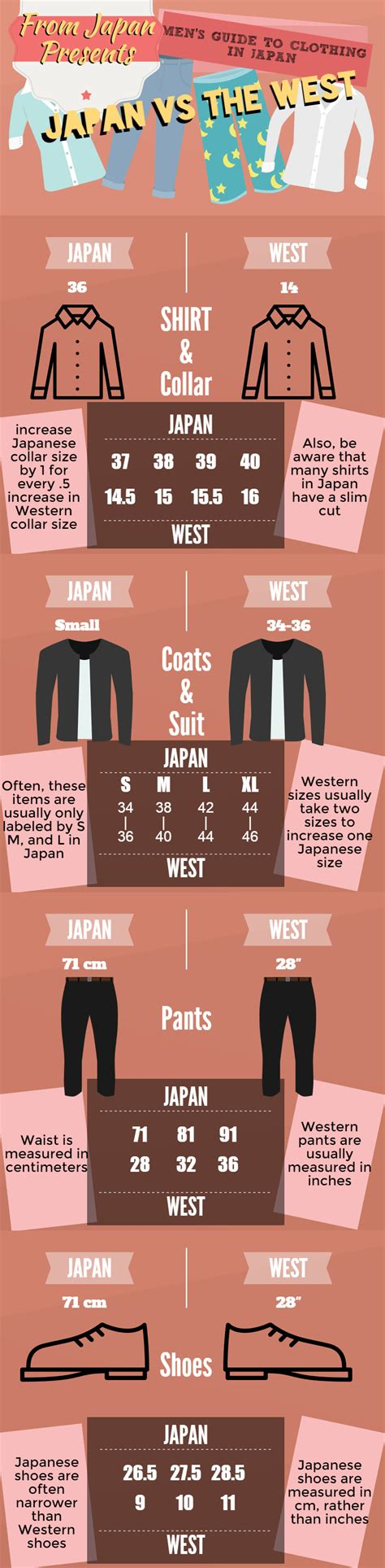 shoe size chart philippines to japan japanese clothing and shoe sizing guide important for