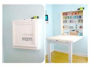 Small Craft Desk Small Space Storage Craft Table For The Home Juxtapost