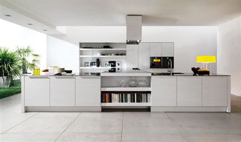interior modern white kitchen design ideas gloss solid