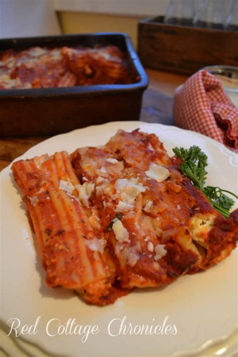 Manicotti Recipe With Cottage Cheese by Taste Of Home Tuesday Cheese Manicotti Cottage
