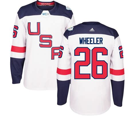 youth premier white mike wallace 17 jersey p 1549 new usa 26 wheeler white 2016 world cup of hockey