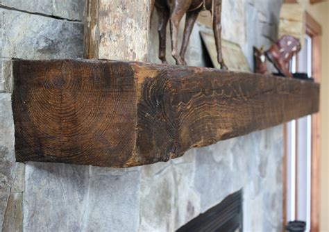 Reclaimed Antique Wood Mantels Mountain Lumber Company Reclaimed Wood For Fireplace Mantel