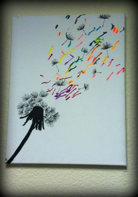 artwork ideas 28 fantastic melted crayon art ideas listing more