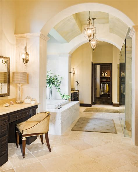 mediterranean bathrooms rough hollow master bath mediterranean bathroom