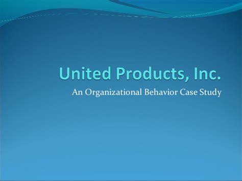 Mba Organizational Behavior Study by Upi Study
