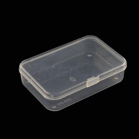 plastic storage containers on sale sale new 1x plastic clear transparent storage box