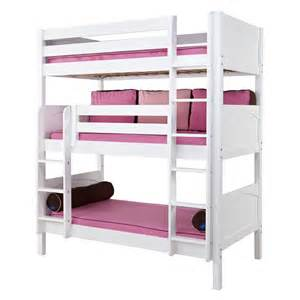 Loft Beds For Girls On Sale by Holy Panel Medium Triple Bunk Bed Rosenberryrooms Com
