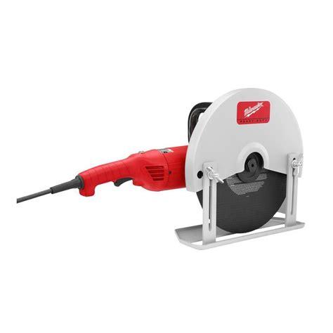 milwaukee tool 14 inch held cut machine the