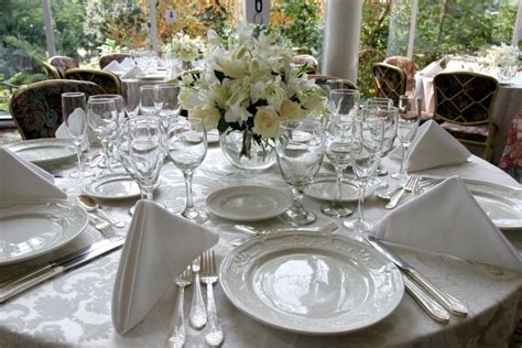 Table Setting For Wedding by Wedding Style Inspiration Table Settings Wedding Gifts