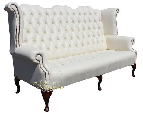 Chesterfield Armchair Second by Chesterfield Newby 3 Seater High Back Wing