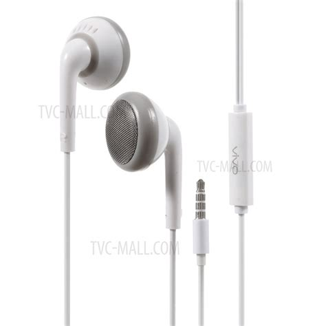 Headset Vivo Xe600i 3 5mm in ear headhone earphone with remote and mic for vivo samsung htc huawei etc