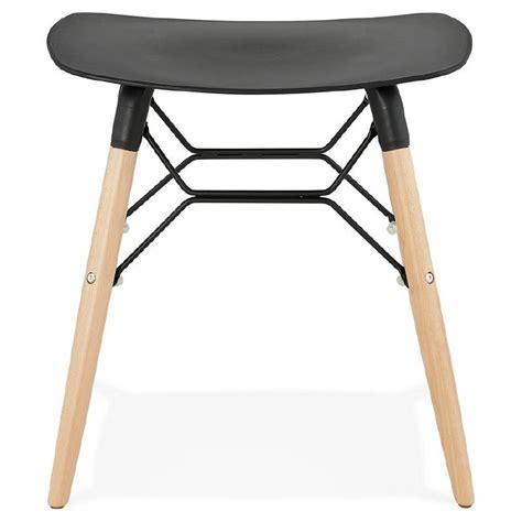 Tabouret Bas Design by Tabouret Bas Design Scandinave Gaspard Noir