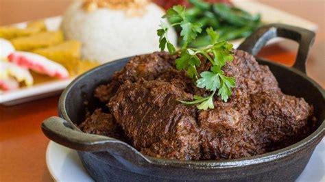 resep rendang daging empuk enak makanan khas padang