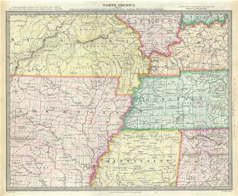 map missouri and kentucky america sheet x parts of missouri illinois