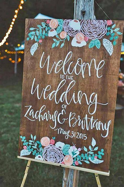 wedding signs 27 most popular rustic wedding signs ideas weddings